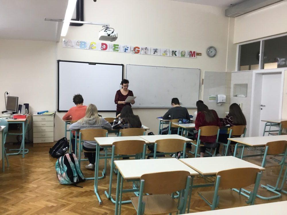 UČILNICA ZA TUJE JEZIKE - foto: Daša Smole, 8. r., IP MME