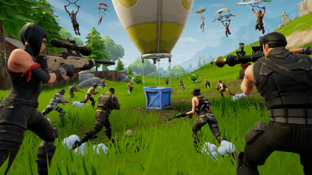 Pridobljeno iz: https://www.epicgames.com/fortnite/en-US/home