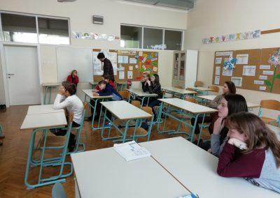 Snemanje Back to school na OŠ Podčetrtek